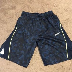 Camo Nike Dri-Fit Shorts